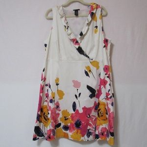 Lane Bryant Floral Dress Size 20